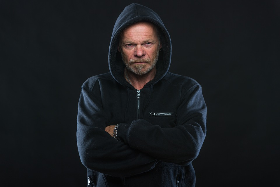 Naštvaný muž
